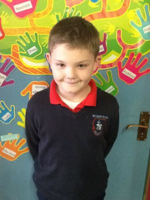 Darragh represents P5 on the Eco Schools Council
